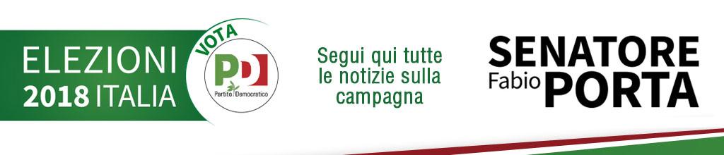 Elezione Italiane - Fabio Porta Senatore